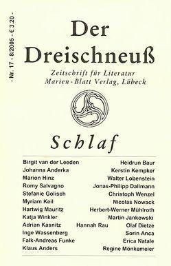 Schlaf von Baur,  Heidrun, Dallmann,  Jonas-Philipp, Hinz,  Marion, Leeden,  Birgit van der, Mönkemeier,  Regine