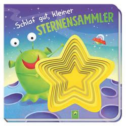 Schlaf gut, kleiner Sternensammler von Berger,  Nicola, Wood,  Hannah