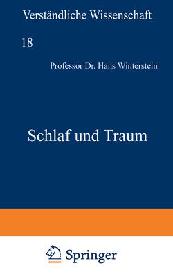 Schlaf und Traum von Loewen,  H., Winterstein,  Hans