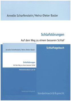 Schlafstörungen – Patienten-Paket von Basler,  Heinz-Dieter, Scharfenstein,  Annelie