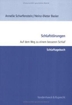 Schlafstörungen – Schlaftagebuch von Basler,  Heinz-Dieter, Chao,  Ingo, Scharfenstein,  Annelie