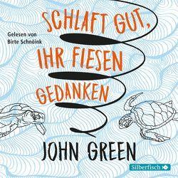 Schlaft gut, ihr fiesen Gedanken von Green,  John, Schnöink,  Birte, Zeitz,  Sophie