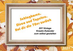 Schlaghosen, Disco und Tapeten. Hol dir die 70er zurück (Wandkalender 2021 DIN A3 quer) von Waurick,  Kerstin