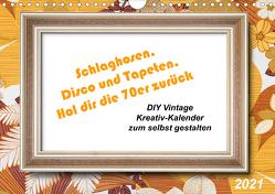 Schlaghosen, Disco und Tapeten. Hol dir die 70er zurück (Wandkalender 2021 DIN A4 quer) von Waurick,  Kerstin