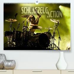 Schlagzeug Action (Premium, hochwertiger DIN A2 Wandkalender 2020, Kunstdruck in Hochglanz) von Bleicher,  Renate