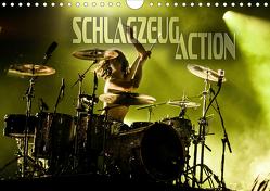 Schlagzeug Action (Wandkalender 2020 DIN A4 quer) von Bleicher,  Renate