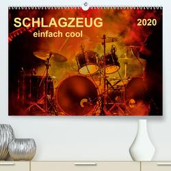 Schlagzeug – einfach cool (Premium, hochwertiger DIN A2 Wandkalender 2020, Kunstdruck in Hochglanz) von Roder,  Peter