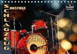 """Schlagzeug onstage – """"abgerockt"""" (Tischkalender 2019 DIN A5 quer) von Bleicher,  Renate"""