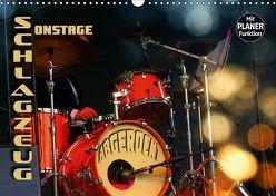 """Schlagzeug onstage – """"abgerockt"""" (Wandkalender 2019 DIN A3 quer) von Bleicher,  Renate"""