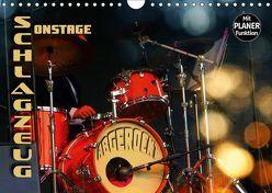 """Schlagzeug onstage – """"abgerockt"""" (Wandkalender 2019 DIN A4 quer) von Bleicher,  Renate"""