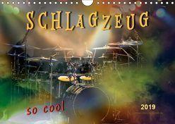Schlagzeug – so cool (Wandkalender 2019 DIN A4 quer) von Roder,  Peter