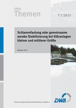Schlammfaulung oder gemeinsame aerobe Stabilisierung bei Kläranlagen kleiner und mittlerer Größe von Deutsche Vereinigung für Wasserwirtschaft,  Abwasser und Abfall e.V. (DWA)