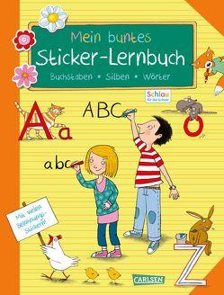 Schlau für die Schule: Mein buntes Sticker-Lernbuch: Buchstaben, Silben, Wörter von Mildner,  Christine, Rothmund,  Sabine