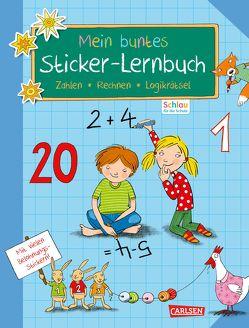 Schlau für die Schule: Mein buntes Sticker-Lernbuch: Zahlen, Rechnen, Logikrätsel von Mildner,  Christine, Rothmund,  Sabine