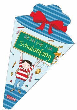 Schlau für die Schule: Rätselspaß zum Schulanfang (Schultüte für Jungen) von Fuchs,  Caroline, Rothmund,  Sabine