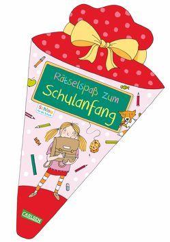 Schlau für die Schule: Rätselspaß zum Schulanfang (Schultüte für Mädchen) von Fuchs,  Caroline, Rothmund,  Sabine