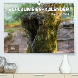 Schlaumeier-Kalender – Thema: Wald (Premium, hochwertiger DIN A2 Wandkalender 2021, Kunstdruck in Hochglanz) von Wersand,  René