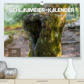 Schlaumeier-Kalender – Thema: Wald (Premium, hochwertiger DIN A2 Wandkalender 2020, Kunstdruck in Hochglanz) von Wersand,  René