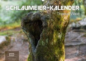 Schlaumeier-Kalender – Thema: Wald (Wandkalender 2018 DIN A2 quer) von Wersand,  René
