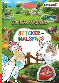 SCHLEICH® Farm World – Sticker-Malspaß