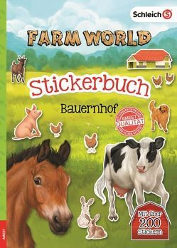 SCHLEICH® Farm World – Stickerbuch Bauernhof
