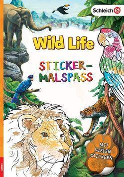 SCHLEICH® Wild Life – Sticker-Malspaß