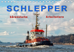 Schlepper – bärenstarke Arbeitstiere (Tischkalender 2019 DIN A5 quer) von Roder,  Peter