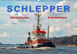 Schlepper – bärenstarke Arbeitstiere (Wandkalender 2019 DIN A2 quer) von Roder,  Peter
