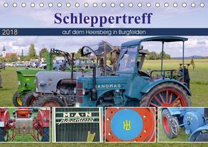 Schleppertreff auf dem Heersberg in Burgfelden (Tischkalender 2018 DIN A5 quer) von Geiger,  Günther