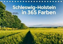 Schleswig-Holstein in 365 Farben (Tischkalender 2018 DIN A5 quer) von Jansen,  Thomas