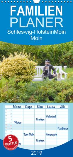 Schleswig-Holstein Moin Moin – Familienplaner hoch (Wandkalender 2019 , 21 cm x 45 cm, hoch) von Busch,  Martina