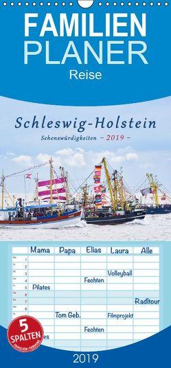 Schleswig-Holstein Sehenswürdigkeiten – Familienplaner hoch (Wandkalender 2019 <strong>21 cm x 45 cm</strong> hoch) von Kulartz,  Rainer, Plett,  Lisa