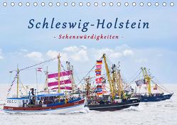 Schleswig-Holstein Sehenswürdigkeiten (Tischkalender 2019 DIN A5 quer) von Kulartz,  Rainer, Plett,  Lisa
