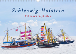 Schleswig-Holstein Sehenswürdigkeiten (Wandkalender 2019 DIN A3 quer) von Kulartz,  Rainer, Plett,  Lisa