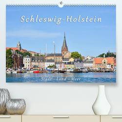 Schleswig-Holstein. Stadt – Land – Meer (Premium, hochwertiger DIN A2 Wandkalender 2021, Kunstdruck in Hochglanz) von Kulartz,  Rainer, Plett,  Lisa