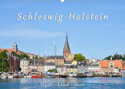 Schleswig-Holstein. Stadt – Land – Meer (Wandkalender 2020 DIN A2 quer) von Kulartz,  Rainer, Plett,  Lisa