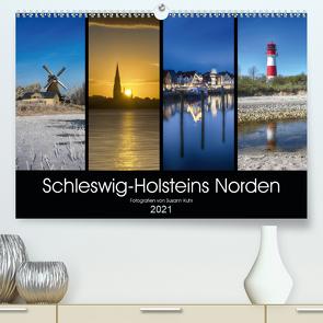 Schleswig-Holsteins Norden (Premium, hochwertiger DIN A2 Wandkalender 2021, Kunstdruck in Hochglanz) von Kuhr,  Susann
