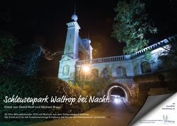 Schleusenpark Waltrop bei Nacht von Braun,  Michael, Wolf,  Detlef