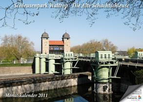 Schleusenpark Waltrop – Die Alte Schachtschleuse 2011 von Braun,  Michael