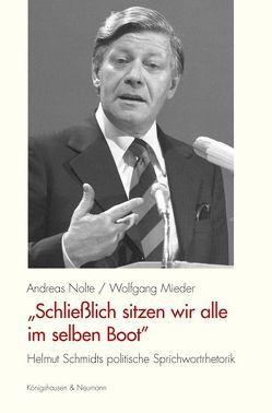 """""""Schließlich sitzen wir alle im selben Boot"""" von Mieder,  Wolfgang, Nolte,  Andreas"""