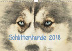 Schlittenhunde 2018 (Wandkalender 2018 DIN A4 quer) von Redecker,  Andrea