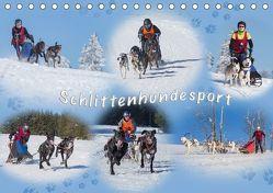 Schlittenhundesport (Tischkalender 2019 DIN A5 quer) von Eschrich -HeschFoto,  Heiko