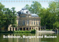 Schlösser, Burgen und Ruinen (Tischkalender 2019 DIN A5 quer) von Huschka,  Klaus-Peter