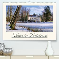 Schlösser der Niederlausitz (Premium, hochwertiger DIN A2 Wandkalender 2021, Kunstdruck in Hochglanz) von LianeM