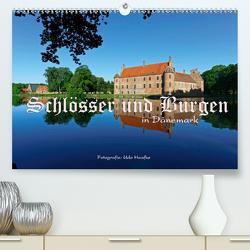 Schlösser und Burgen in Dänemark 2021 (Premium, hochwertiger DIN A2 Wandkalender 2021, Kunstdruck in Hochglanz) von Haafke,  Udo