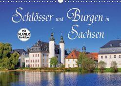 Schlösser und Burgen in Sachsen (Wandkalender 2019 DIN A3 quer)