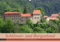 Schlösser- und Burgenland Thüringen (Wandkalender 2018 DIN A2 quer) von Flori0,  k.A.