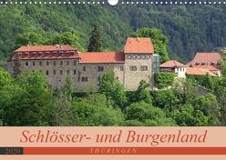 Schlösser- und Burgenland Thüringen (Wandkalender 2020 DIN A3 quer) von Flori0