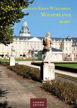 Schlösser und Gärten in Baden-Württemberg Monatsplaner 2020 30x42cm von Schawe,  Heinz-werner