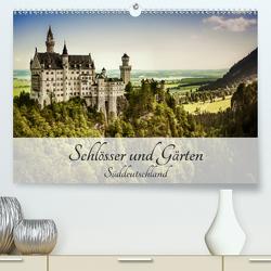 Schlösser und Gärten Süddeutschland (Premium, hochwertiger DIN A2 Wandkalender 2021, Kunstdruck in Hochglanz) von D.,  Andy